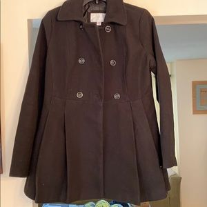 Pea coat- does not appear to have been worn